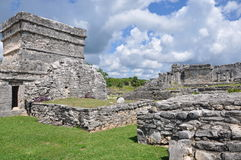 Tulum Mayan Ruins. In Mexico Stock Image