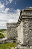 Tulum mayan ruins Royalty Free Stock Photos