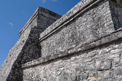 Tulum Mayan Ruins. In Mexico Royalty Free Stock Image