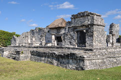 Tulum Mayan Ruins. In Mexico Stock Photography