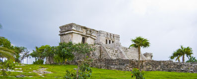 Tulum Mexico. Tulum temple complex Near Cancun, Yucatan area of Mexico. Vacation destination in Mexico stock photos