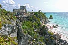 Tulum Mexico Arkivbilder