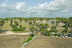 Tulum Mexico Arkivfoto