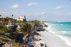 Tulum, Mexico Stock Image