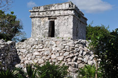Tulum Mexico Mayan Ruins Stock Photo