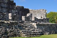 Tulum Mexico Mayan Ruins. Tulum Mexico Ancient Mayan Ruins royalty free stock photo
