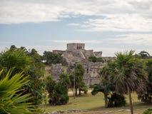 Tulum, Mexico, South America : [Tulum ruins of ancient Mayan city, tourist destination, Caribbean sea, gulf, beach]. Tulum, Mexico, South America - January 2018 royalty free stock images