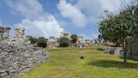 Tulum Mexique Images libres de droits