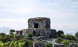 Tulum Navigation Temple close Royalty Free Stock Photos