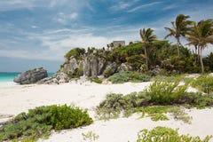 Tulum nel Messico Fotografia Stock