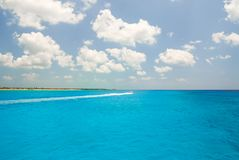 Tulum Od morza obrazy royalty free