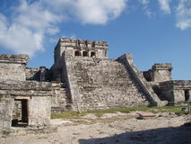 Tulum Palace #2. Scenic view of Tulum Palace Royalty Free Stock Photography