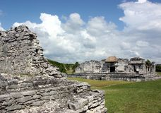 Tulum palaces Royalty Free Stock Photos