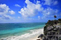 Tulum, Quintana Roo, Mexiko - Landschaft Stockbild