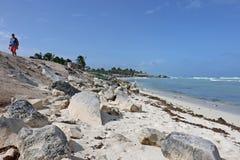 Tulum-Reise Lizenzfreie Stockbilder
