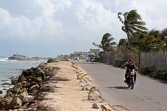 Tulum-Reise Stockbild