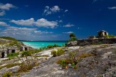 Tulum Ruinen Lizenzfreies Stockbild