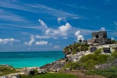 Tulum ruins Stock Photos