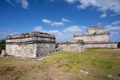 Tulum ruins Stock Images