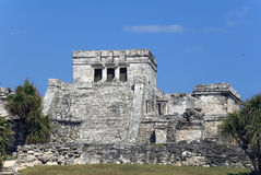 Tulum Ruins. Tulum Maya ruins in the Yucatan Mexico stock photo