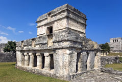 Tulum Ruins. Tulum Maya ruins in the Yucatan Mexico stock photos