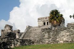 Tulum ruins Royalty Free Stock Photos