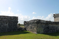 Tulum ruins Royalty Free Stock Photography