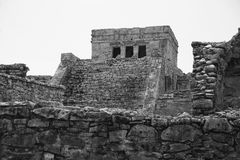 Tulum ruins royalty free stock image