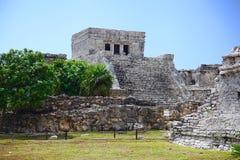 Tulum ruins Stock Photography