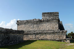 Tulum ruins by day Stock Photography