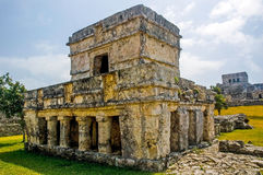 Tulum Ruins. Mayan ruins located in the Yucatan peninsula of Mexico stock photos