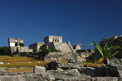 Tulum Ruins, Mexico Royalty Free Stock Images