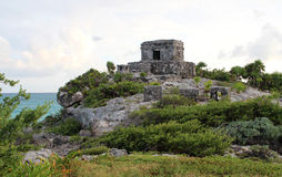 Tulum ruins in Mexico. Tulum ruins in Yucatan, Mexico Royalty Free Stock Images