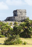 Tulum ruins in summer Stock Photos
