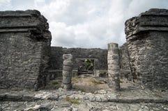 Tulum Ruins, Travel Stock Photo
