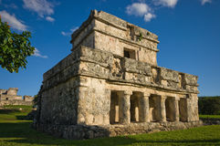 Tulum temple Stock Photo