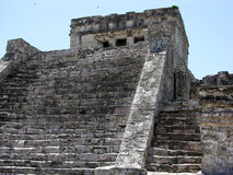 Tulum Temple Royalty Free Stock Photos