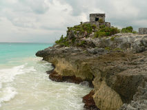 Tulum tropical outpost royalty free stock images