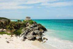 Tulum, Yucatan, Mexico Royalty-vrije Stock Fotografie