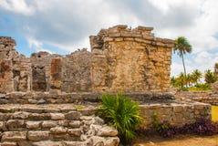 Tulum, Yucatan, Mexico: Archeological ruins, built by the Mayas. Tulum, Yucatan, Mexico: Archeological ruins built by the Mayas. Ancient city stock images
