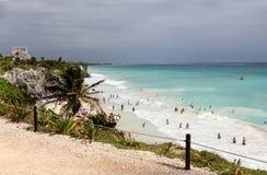 Tulum, Yucatan, Mexico Stock Images
