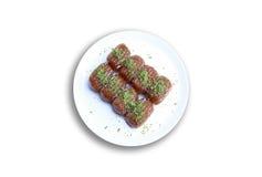 Tulumba tatlısı Stock Photo