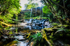 Tum Assim-nem cachoeira, de Tham cachoeira assim Nuea, água de fluxo, fal Imagem de Stock
