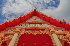 Tum del wat del templo Imagen de archivo libre de regalías