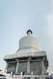 Tum di Bai (pagoda bianca) Fotografia Stock