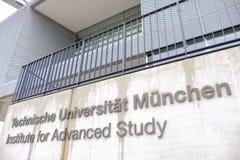 TUM: Institut för avancerad studie Arkivfoto