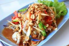 tum som салата папапайи тайский Стоковые Фото