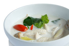 Tum tailandés Kha Kai del alimento foto de archivo libre de regalías
