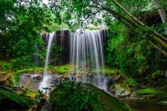 Tum So-nor Waterfall. Stock Photography