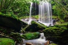 Tum So-nor Waterfall. Royalty Free Stock Photos